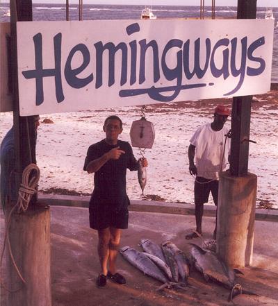 catching at hemmingways kenya